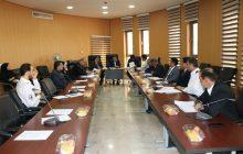 برپایی جلسه مدیریت بحران در شهرداری فردیس