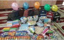 اهدای بسته های لوازم التحریر مجموعا به ارزش 100 میلیون تومان در مناطق کم برخوردار فردیس