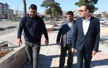 احداث 450 متر پیاده راه در پارک بهشت فردیس/ بهره برداری در دهه فجر