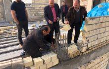 قطع میلگرد های غیر مجاز ملکی در خیابان اهری فردیس