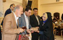از ملیحه اکبری به عنوان عضو اهل قلم شورای اسلامی شهر فردیس تقدیر شد
