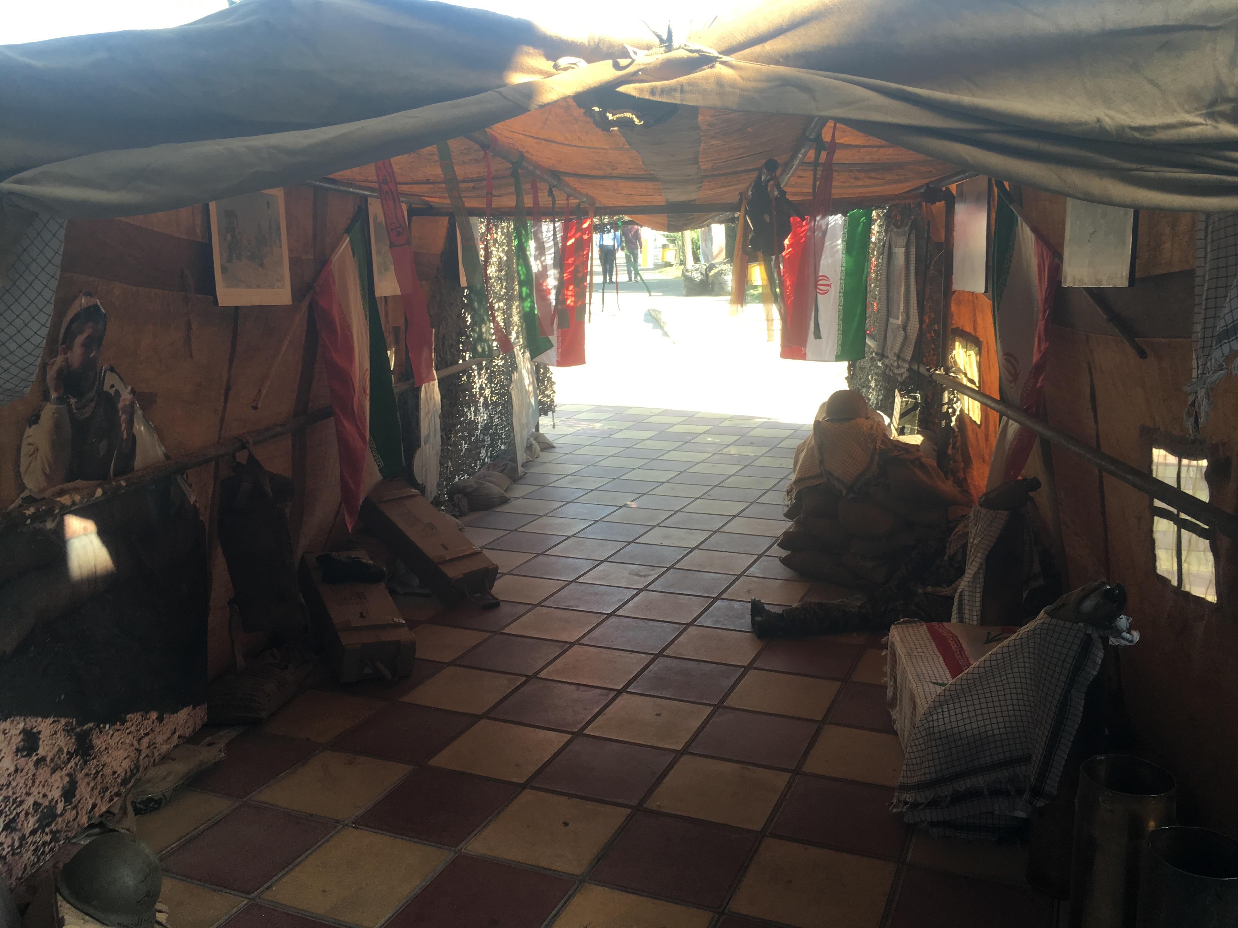 برگزاری نمایشگاه هفته دفاع مقدس در ساختمان منطقه یک شهرداری فردیس