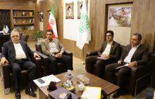 دیدار رئیس بانک شهر استان البرز با سرپرست شهرداری فردیس