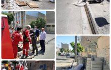 8 چاه جذبی در منطقه یک شهرداری فردیس حفاری شد