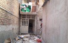 انفجار یک واحد مسکونی به علت نشت گاز در فردیس/ 3 نفر مصدوم شدند
