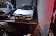 فروکش کف پارکینگ ساختمانی در فردیس حادثه ساز شد