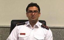 حضور به موقع آتش نشانان فردیس در حادثه حریق شهرک ناز