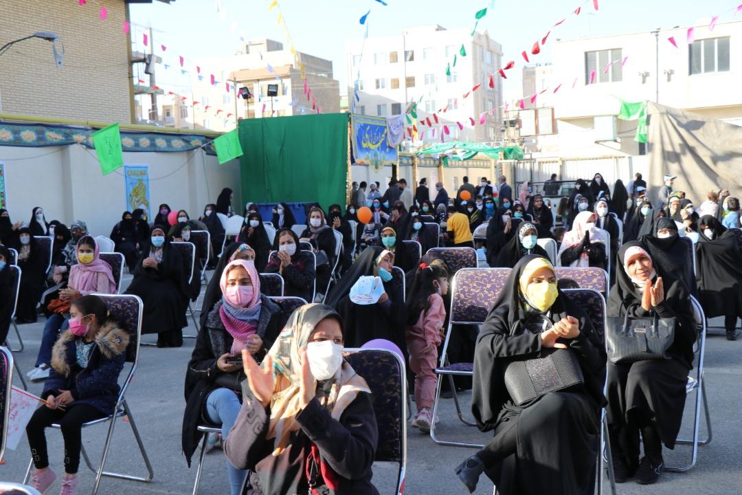 گزارش تصویری از برگزاری مراسم جشن نیمه شعبان