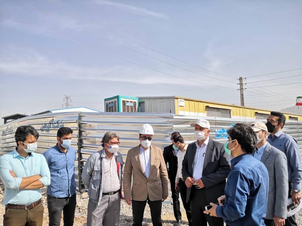 ادامه عملیات احداث بلوار کشتارگاه حدفاصل بلوار مپنا تا کیاتل