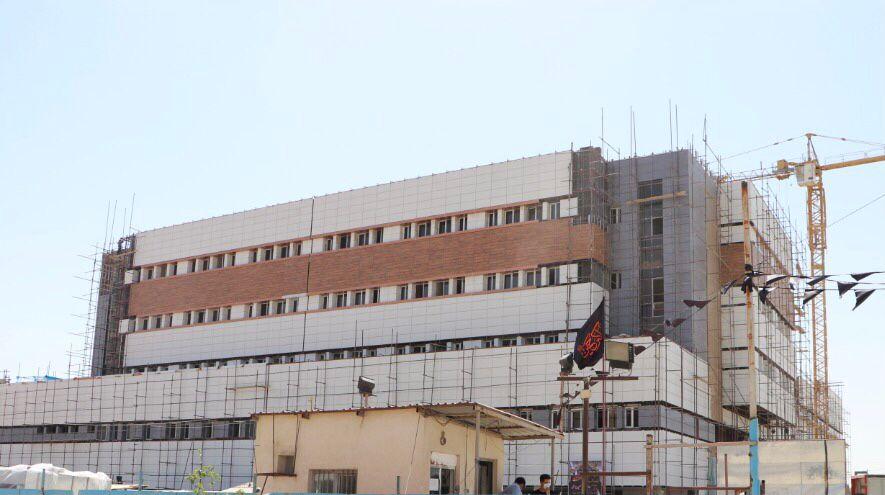 بازدید مدیریت شهری از بیمارستان در حال احداث فردیس