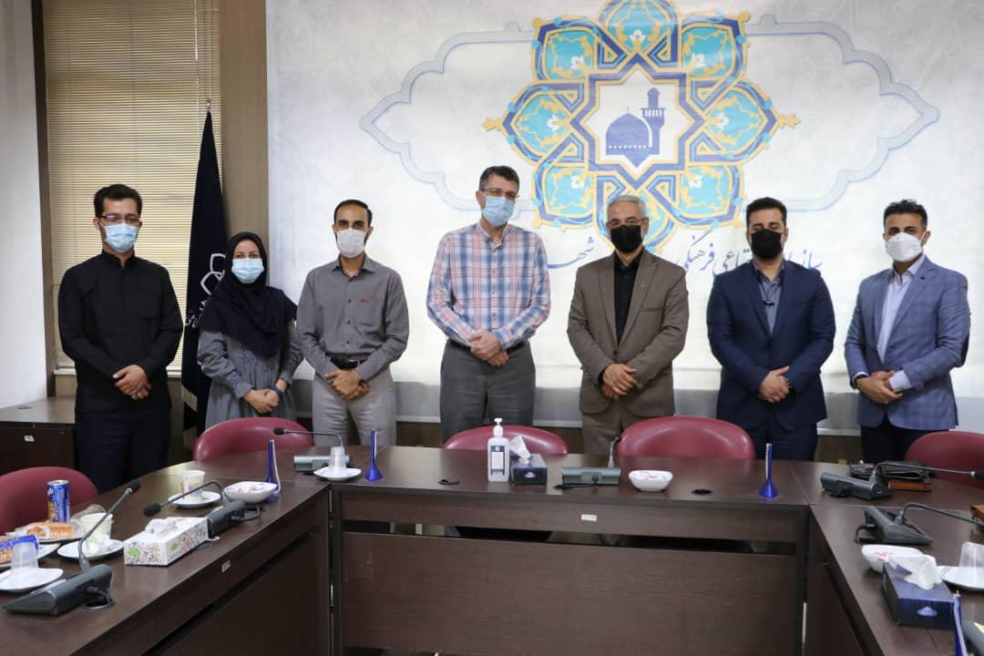 جلسه هم اندیشی شهرداریهای فردیس و مشهد در حوزه های فرهنگی